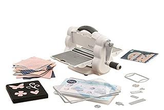 Sizzix Big Shot Foldaway, máquina de corte y repujado manual y compacta con troqueles Bigz y Thinlits, cartulina y fieltro, tamaño A5 (15,24 cm) (B074JGWS1L) | Amazon Products