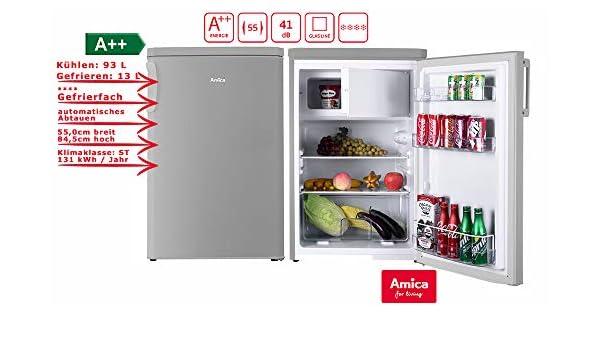 Bomann Kühlschrank Glasablage : Kühlschrank ks e silber kwh amazon elektro