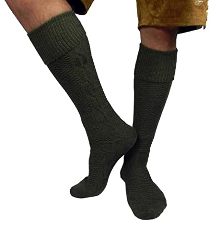 Herren Trachtensocken Trachten Socken Strümpfe für Lederhose Kniebund Kurz Hose