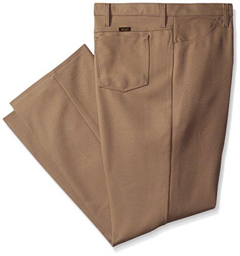 Wrangler Men's Big Wrancher Dress Jean, Tan, 46x32 (Wrangler Polyester Hose)