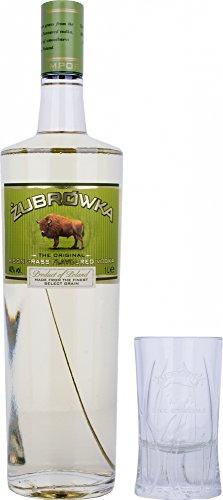Zubrowka Bison Grass Polish Flavoured Rye Vodka 1 Litre