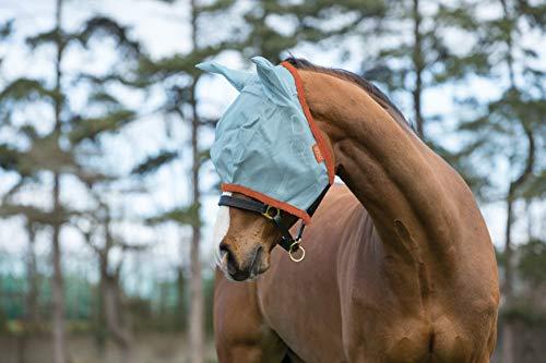 Amigo FlyMask VB AQ/OR (Orange Horse Schabracke)