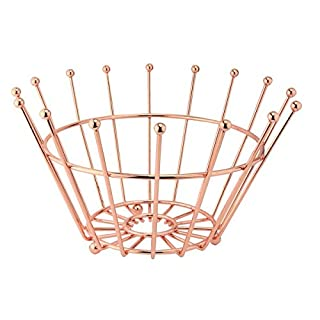 Apollo Housewares Fruit Bowl Crown, Copper, 36 x 19 x 36 cm