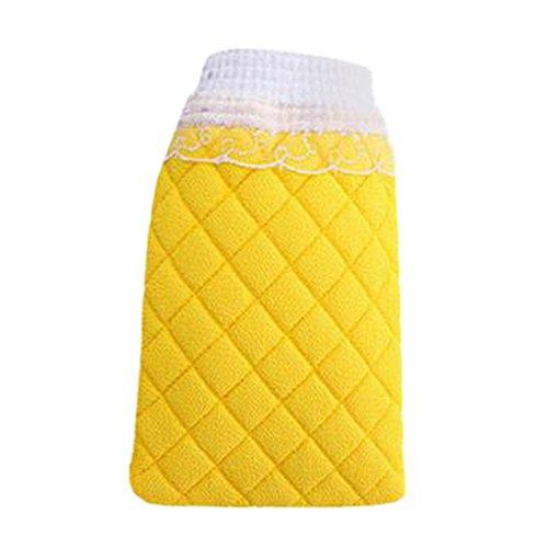 Loofah Sponge Scrubber Bath Sponge Wash Towel Gant de bain et douche C