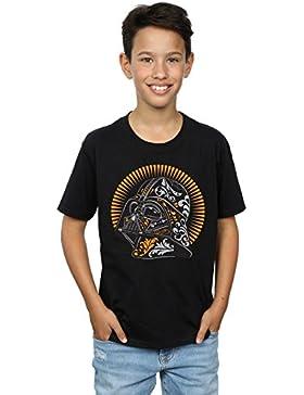 Star Wars Niños Darth Vader Dia De Los Muertos Camiseta