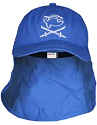 iQ UV 200 Kids Cap con protección de la nuca, gorra protectora de los rayus UV