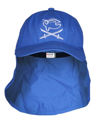 iQ-Company Kinder Cap IQ UV 200 Kids und Neck Jolly Fish, Dark-Blue, One size, 328315_2445_Stk.