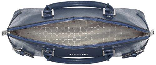 Trussardi 76b32453, Borsa Tote Donna, 38x26x13 cm (W x H x L) Blu (Blue Denim)