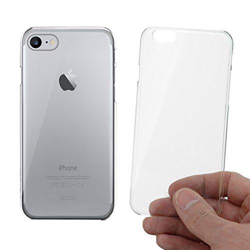 doupi Crystal AllClear Schutzhülle für Apple iPhone 8/7 (4,7 Zoll) Hülle Schale Cover Transparent Glasklar Hardcase