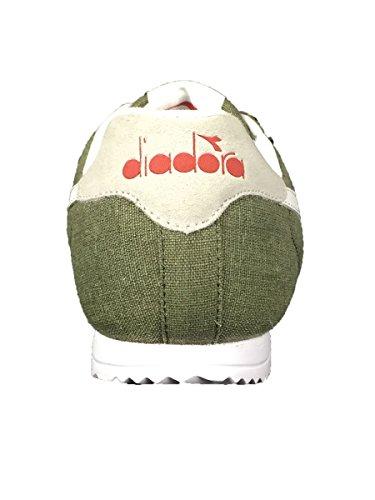 Diadora Unisex-Erwachsene Jog Light C Sneaker Low Hals Grün