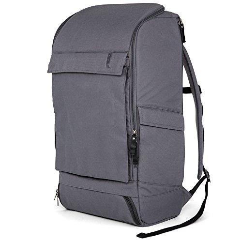 AEP Business-Rucksack ALPHA X-LARGE für Herren und Frauen inklusive 17 Zoll Laptopfach - Grau (Alpha-rucksack)