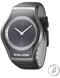 Police Sphere P12096JSB-02 - Reloj unisex de cuarzo, correa de piel color negro