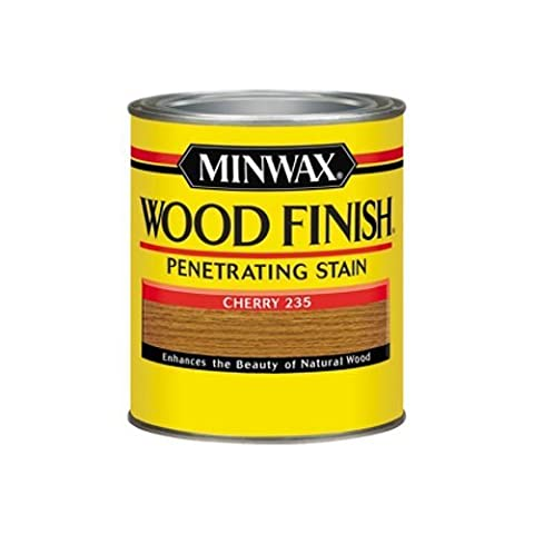 Minwax 1 Quart cerise Finition int-rieure en bois Wood Stain 70009