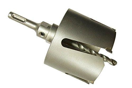SDS-Plus universal Dosensenker Bohrkronen Mauerwerk Gipskarton Porenbeton 80mm