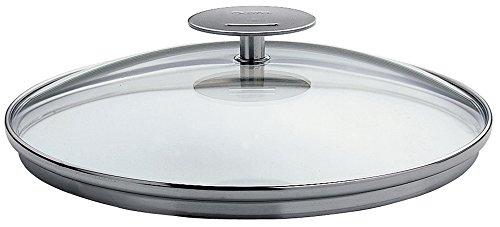 Cristel-KOV30P-Couvercle en verre bombé - Platine