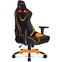 AK Racing CP - Silla para Gaming, Color Negro y Naranja