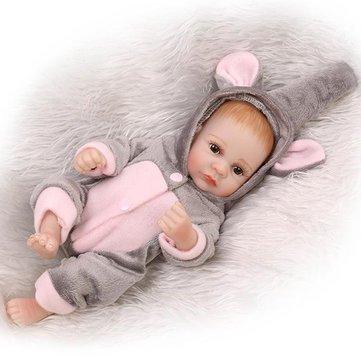 Generic 11inch Reborn Baby Doll Handmade Lifelike Boy Play House Toy
