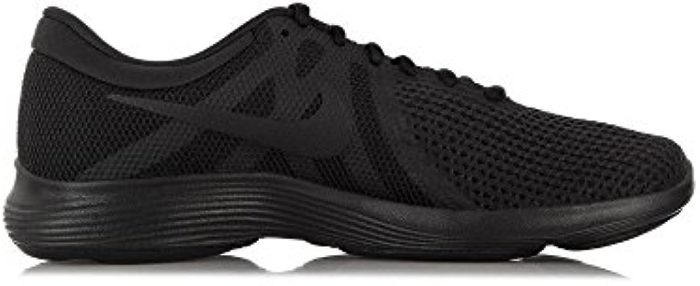 Nike Revolution 4 EU, Zapatillas de Running para Hombre, Negro (Black/Black 002), 49.5 EU