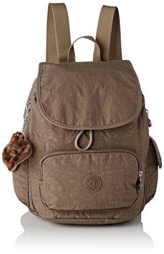 Kipling City Pack S, Sacs à dos femme, Marron (True Beige), 15x24x45 cm (W x H x L)