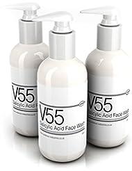 V55 salicylate visage nettoyant pour boutons Peau, les imperfections, les  points noirs et peaux à problèmes – . 0556d8d5be1
