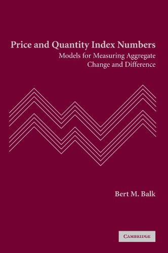 Price and Quantity Index Numbers Paperback