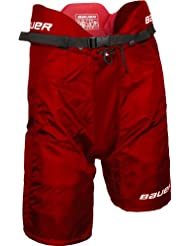 Bauer Vapor X60 Pantalones Junior - Rojo, Grande