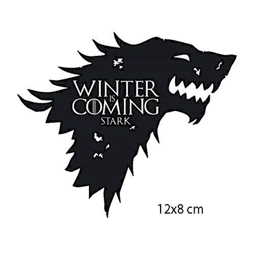 Parche bordado Game of Thrones House Stark House Targaryen