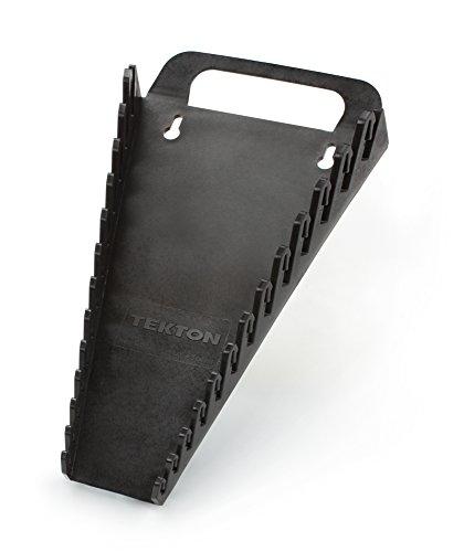 TEKTON 79349 Tragbare Aufbewahrungsleiste für 13 Schraubenschlüssel / Schraubenschlüssel-Halter, schwarz