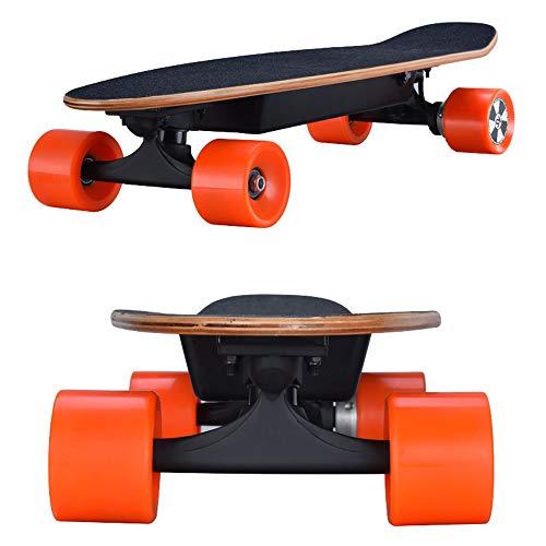 Dapang Skateboard Komplett leicht, 20KM/H Höchstgeschwindigkeit / 25KM Reichweite, breites und stabiles Skateboard Deck - Street, All-Terrain, 2 in1 Modelle