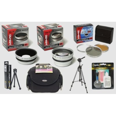Opteka Hdâ² digitale professionale kit di accessori per fotocamera Panasonic Lumix dmc-lx3