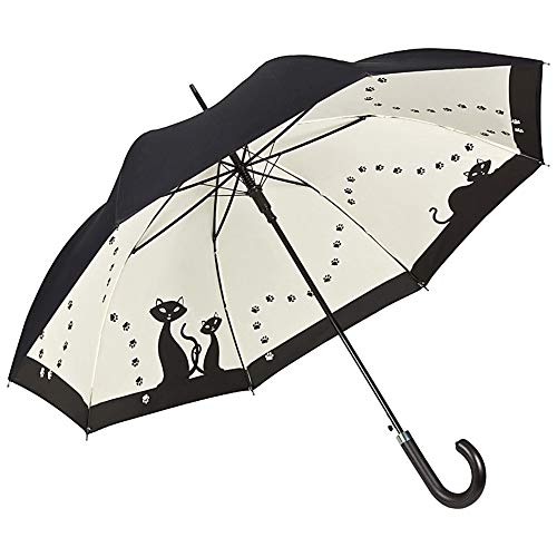 VON LILIENFELD Paraguas Automática Mujer Motivo Gatos