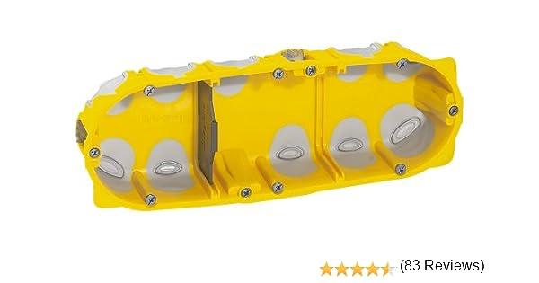 Boite Encastrement 3 Postes Legrand BATIBOX ENERGY 40MM