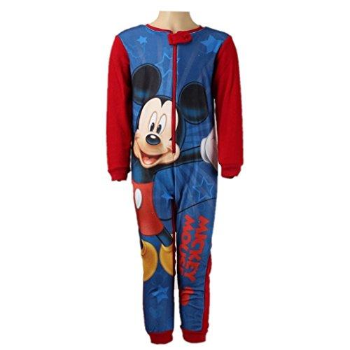 Disneys mickey mouse -  pigiama interi  - ragazzo red sleeves 8 anni