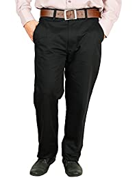 Crocks Club Black Color Cotton Trouser For Men