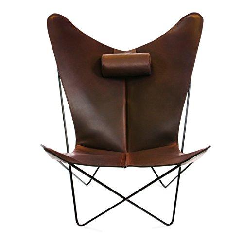 Design-Stuhl KS mocca, Gestell schwarz - (KSCHAIR_MOCCA_BLACKSTEEL)