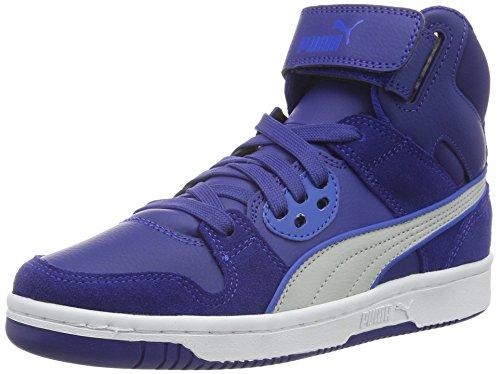 Puma Unisex-Kinder Rebound Street SD High-Top, Blau (Mazarine Blue-Gray Violet 11), 38 EU