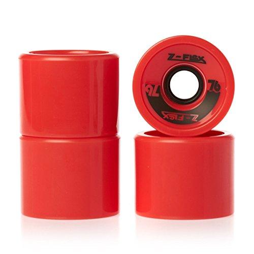 Z-flex de wheels Rouge - rouge