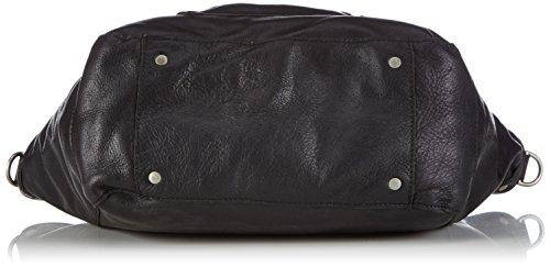 Cowboysbag Bag Bridgewater 1414 Damen Henkeltaschen 45x29x14 cm (B x H x T) Schwarz (Black 100)