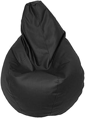 Puff de Pera XL (130x80x80) Color Negro