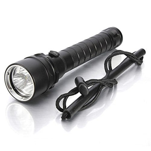 OVERMAL 3x XML T6 LED Wasserdichte Tauchen Unterwasser Taschenlampe Lampe