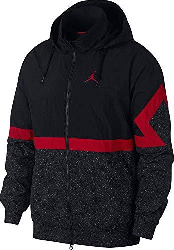 Nike-warm Ups (Nike AR3242 010 Jordan Diamond Cement Jacke Schwarz)