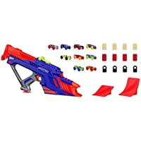 Hasbro Nerf Nitro C0787EU4 Moto Fury Rapid Rally Vehicle Blaster Set