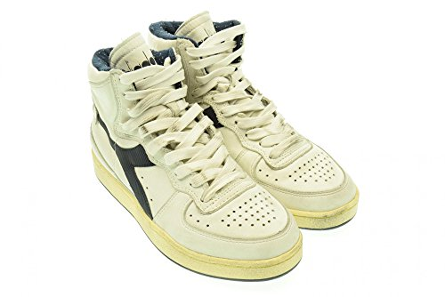Sneaker Mi Herren Heritage Basket High Bianco Nero Used 158569 Diadora  Int4cqW5q ... c29efd05dc