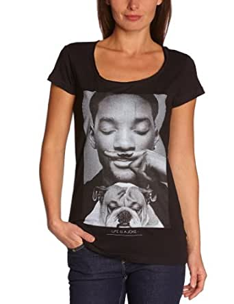 Eleven paris - woly - t-shirt - imprimé - femme - noir (m06: black) - xs