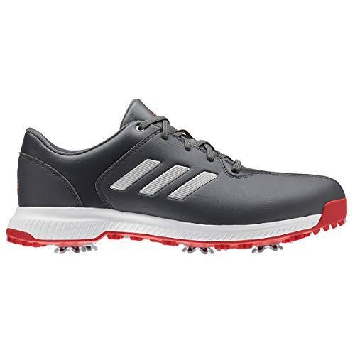 adidas Herren Cp Traxion Golfschuhe Grau (Blanco/Rojo/Gris Bb7905) 43 1/3 EU