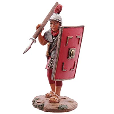 Novelty Roman Legionnaire Figurine This Item Is Sent In Random Colours, Styles And Patterns, Please