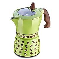 Gat Coffee Show Espresso Makinası 6 Kişilik (Yeşil)