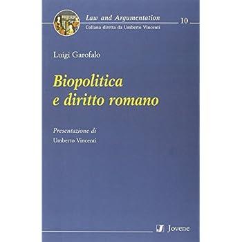 Biopolitica E Diritto Romano