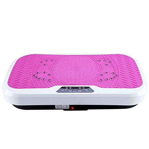 PHNWL-Vibrationsplatte,Tragkraft 150 kg, starke Stummschaltung, 0-99-Feile, Shiatsu-Massage, drahtlose Fernbedienung, tragende 150 kg, intelligentes Display
