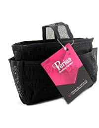Periea - Sac de rangement/Pochette/Organisateur intérieur pour sac à main , 20 poches 25x14x7cm - Megan noir